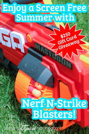 nerf terrascout enjoy a screen free summer with the new nerf n strike blasters