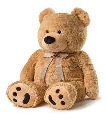 Teddy Bear Crafts For Kids Amazon Com Huge Teddy Bear Tan Toys U0026 Games