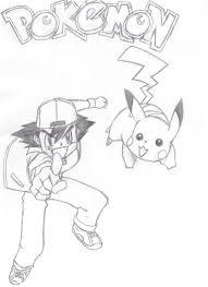 pokemon ash and pikachu by ryan garry on deviantart