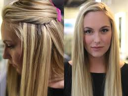 hair extension salon nothing compares to thick luxurious hair with in hair extensions