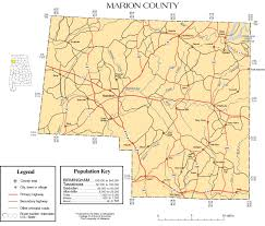 County Map Of Mississippi Marion County Alabama History Adah