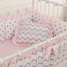 Grey Chevron Crib Bedding Set Photo Attracktive Nursery Crib Bedding Sets Two Greatest Concept