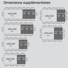 dimension table cuisine dimensions table a manger dimension salle 6 personnes 0 10 best