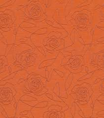 home decor upholstery fabric crypton bed of roses orangehome decor
