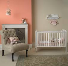 girls bed crown beautiful nursery baby bedroom painted in crown matt emulsion in