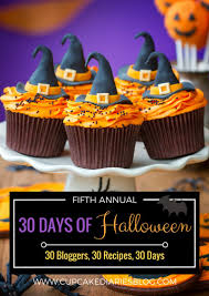 ghoulish monster halloween cupcakes 30 days of halloween 2017