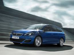 blue peugeot peugeot 308 sw gt photos photogallery with 17 pics carsbase com
