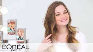 at home ombre hair color tutorial feria l u0027oreal youtube