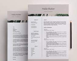 Download Resume Format For Job Application by Job Application Etsy