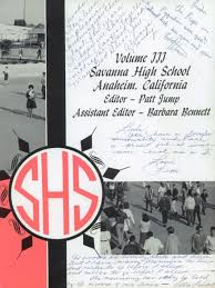savanna high school yearbook explore 1964 savanna high school yearbook anaheim ca classmates