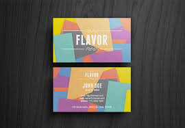 40 flat designs inspiration for business cards printingdeals org