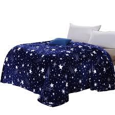 canap bleu roi svetanya galxy couverture bleu flanelle polaire plaid canapé