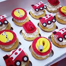 firefighter cupcake toppers alyssa s cakery alyssascakery instagram photos and
