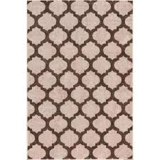 Trellis Kitchen Rug Beige Machine Washable 3 X 5 Area Rugs Rugs The Home Depot