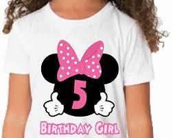 minnie mouse birthday shirt etsy