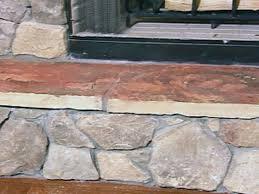 how to build a stone fireplace latest diy rock fireplace diy