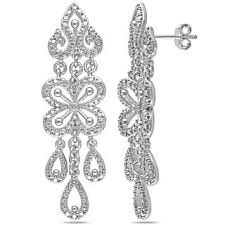 diamond chandelier earrings chandelier earrings shop the best deals for nov 2017 overstock