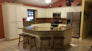 giallo fiorito granite with oak cabinets cabinet refinishing hausslers kitchens and loversiq