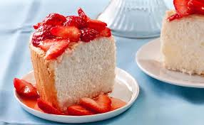 orange angel food cake strawberries 60 impressive birthday