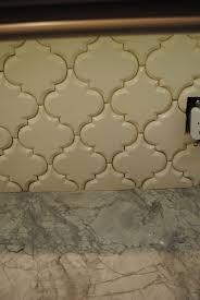 How To Backsplash Kitchen How To Install Beveled Arabesque Tile Karen Viscito Interiors