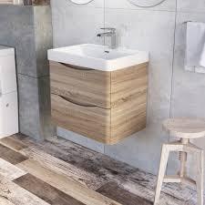 Wall Bathroom Vanity Bathrooms Design Grey Bathroom Vanity Walnut Vanity Unit