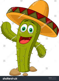 cartoon margarita cartoon mexican cactus character stock vector 137967791 shutterstock