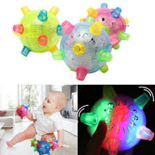 baby toys with lights and sound baby kids classic toy jumping flashing light up bopper vibrating