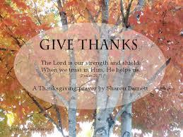 a thanksgiving prayer by barnett lighthouse bible