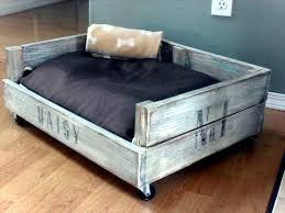 diy wooden dog beds from euro pallets interior design ideas