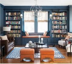 Decorating Bookshelves Ideas by Best 20 Blue Bookshelves Ideas On Pinterest Reading Room Built