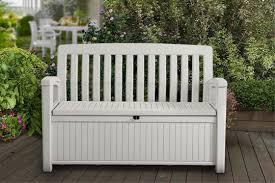 patio storage bench keter