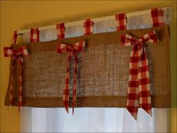 kitchen bedroom drapes red and brown curtains navy white