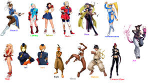 from street fighter main character name fighter girls by algono on deviantart
