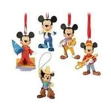 mickey mouse club 5 ornament set disney disney ornaments