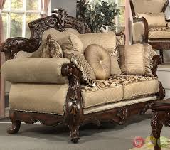 antique style sofa set comfortable and unique sofas