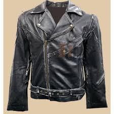 buy biker jacket buy terminator vintage distressed biker leather jacket