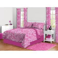 Zebra Home Decor by Zebra Print Complete Bed In A Bag Bedding Set Walmart Com