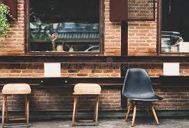 interior architecture cafe design concept stock photo image