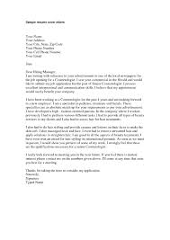 The Best Cover Letters Samples 28 Resume Cover Letter Cosmetologist Cover Letter