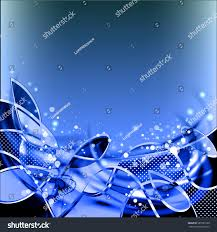 abstract blue pure vector background cool stock vector 687983128