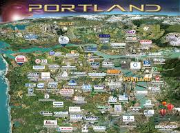 Map Of Beaverton Oregon by Portland Map Silicon Maps