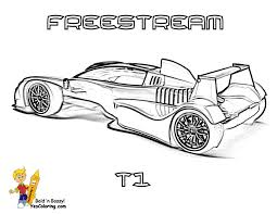 mega sports car coloring pages ktm x bow race car wow http