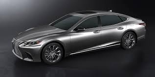 lexus turbo is 2018 lexus ls500 revealed in detroit with powerful new twin turbo