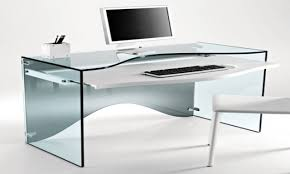 Unique Desks by Modern Glass Computer Desk Computer Desk Glass Awesome Modern