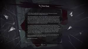 dishonored 2 how to solve the jindosh riddle and lock and skip
