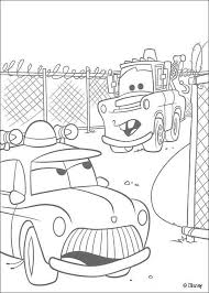 mater police car coloring pages hellokids