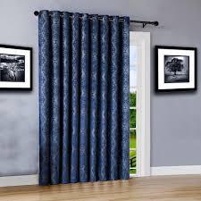Blackout Patio Door Curtains Warm Home Designs 110 Wide Navy 100 Blackout Patio Door Curtains