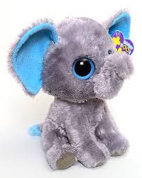 peanut blue ears beanie boos