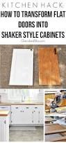 best 25 update kitchen cabinets ideas on pinterest updating kitchen hack diy shaker style cabinets
