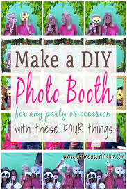 how to make a photo booth create a diy photo booth for with just four things
